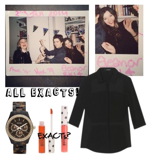 """""""ELEANOR CALDER INSPIRED OUTFIT:*"""" by costina-raftu ❤ liked on Polyvore featuring beauty, FOSSIL and Topshop"""