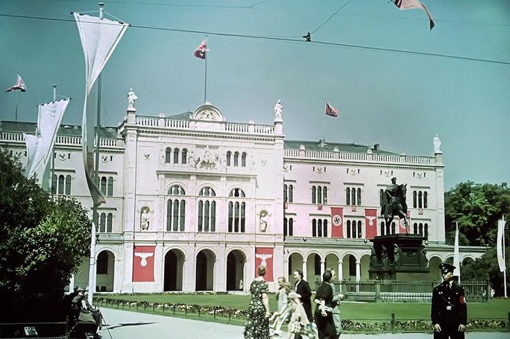 Albertus-University in the legendary city of Königsberg, the former capital of East Prussia, German Reich. 1938.
