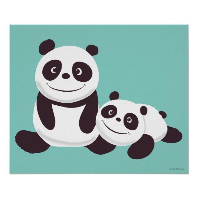 Baby Pandas Poster Zazzle Com Baby Panda Panda Kung Fu Panda 3