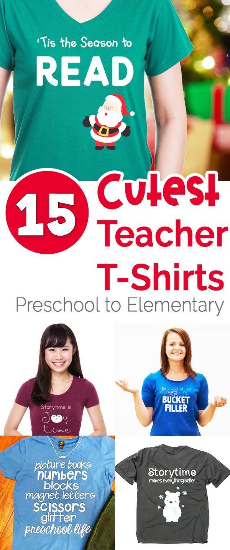 Teacher shirts for preschool, kindergarten, and elementary teachers #teacherlife #teachershirt via @booksandgiggles