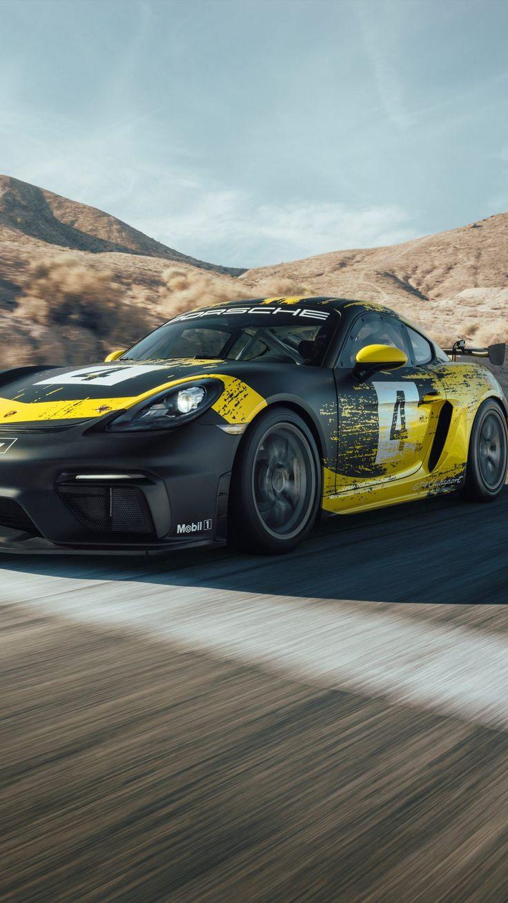 Nice Porsche 718 Cayman GT4 Clubsport 2
