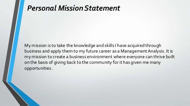 Professional Mission Statement Awesome Leontae Caldwell Career Portfolio Personal For Examples