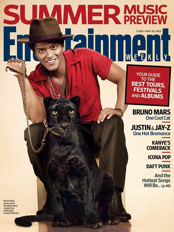 Bruno on Entertainment Weekly!