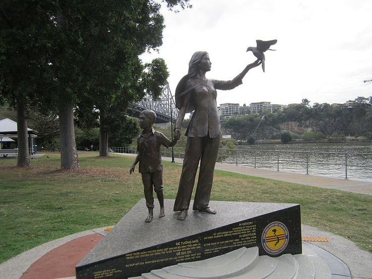 Vietname Boat People Memorial - Vietnamese boat people - Wikipedia, the free encyclopedia