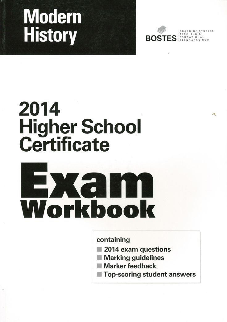 2014 HSC Exam Workbook: Modern History.