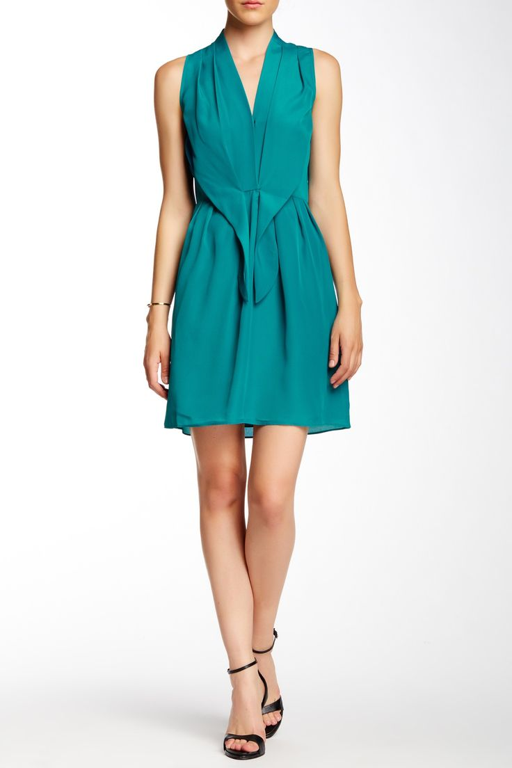 Sleeveless Tie Front Dress by Felicity and Coco on @nordstrom_rack