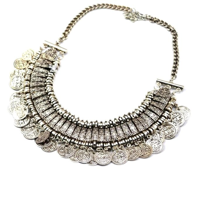 Checkout our #awesome product Bellydance Coin Gypsy Necklace - Antique Silver color / AZBTBN008-VSL - Bellydance Coin Gypsy Necklace - Antique Silver color / AZBTBN008-VSL - Price: $85.00. Buy now at http://www.arrascreations.com/bellydance-coin-gypsy-necklace-antique-silver-color-azbtbn008-vsl.html