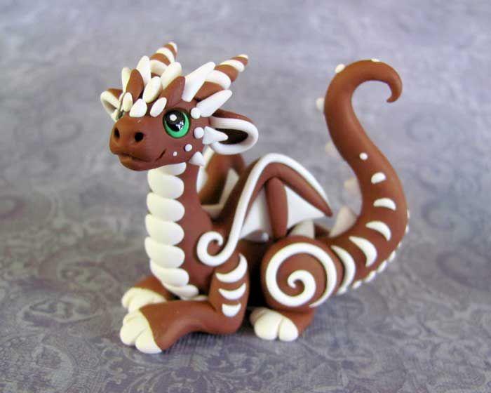 Gingerbread Dragon by DragonsAndBeasties.deviantart.com on @deviantART