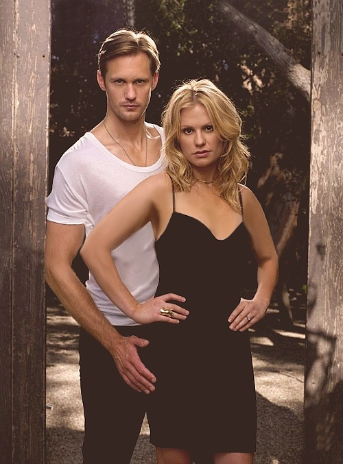 Alexander Skarsgard and Anna Paquin - Eric Northman and Sookie Stackhouse on True Blood