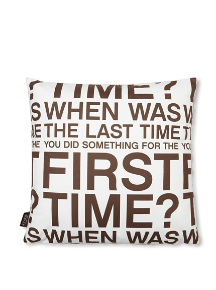 Inhabit First Time Pillow at MYHABIT: First Time, Time Pillows