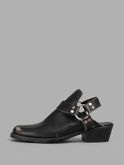 ac3a3c167422 BALENCIAGA Balenciaga Men S Black Santiago Ankle Boots.  balenciaga  shoes   boots