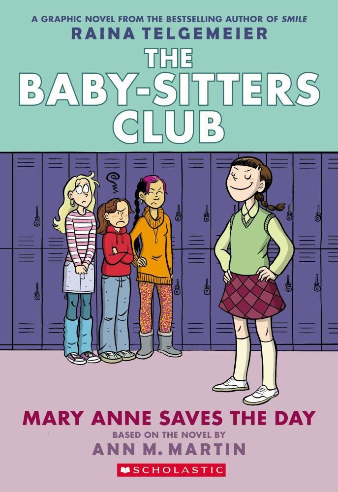 Baby Sitters Club Mary Anne Saves The Day Full Color Editio The
