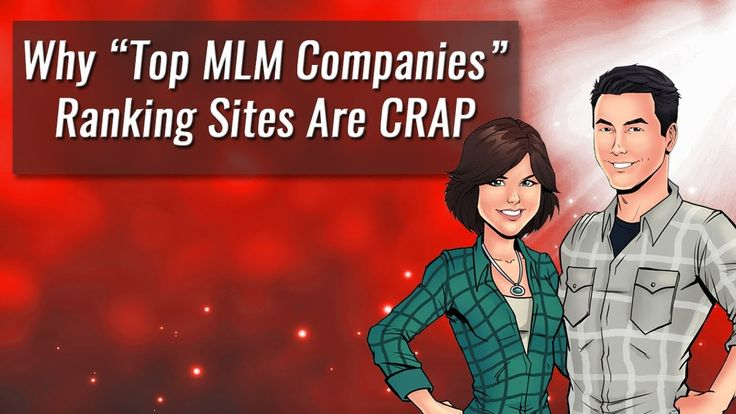 Why Top MLM Companies Ranking Sites Are Crap https://www.youtube.com/watch?v=cF2zyLz10lA