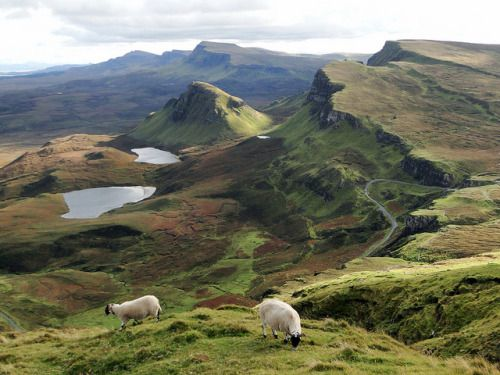 The Quiraing, Isle of Skye by QuidamCress on Flickr.