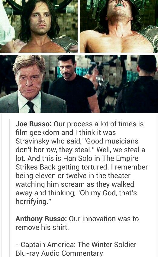 Intense planning went into every Captain America: The Winter Soldier scene. There were a lot of good choices made on set.