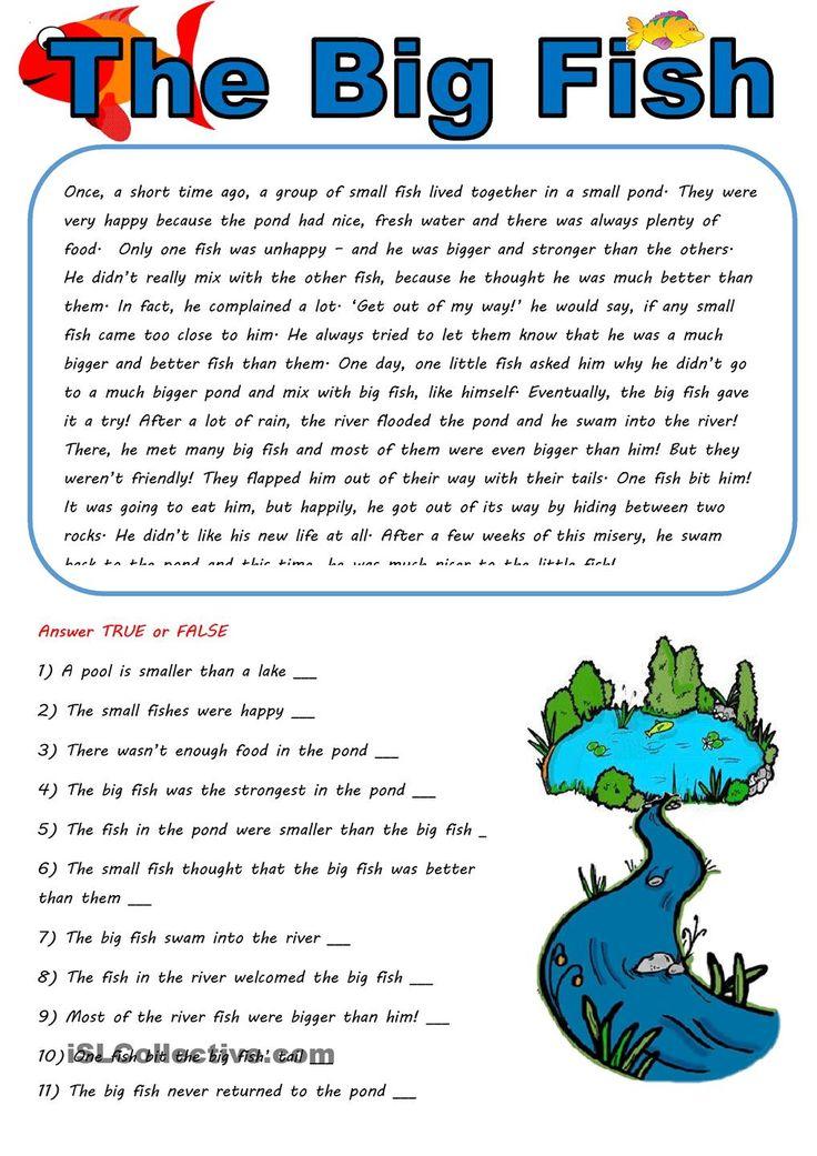 Best 20 tenses in english grammar ideas on pinterest for Big fish little pond