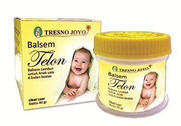 Telon balm #TRESNO #JOYO is balm for babies and children, containing fennel oil (Oleum Foeniculi) that help treat flatulence, is also very suitable to help allevi...
