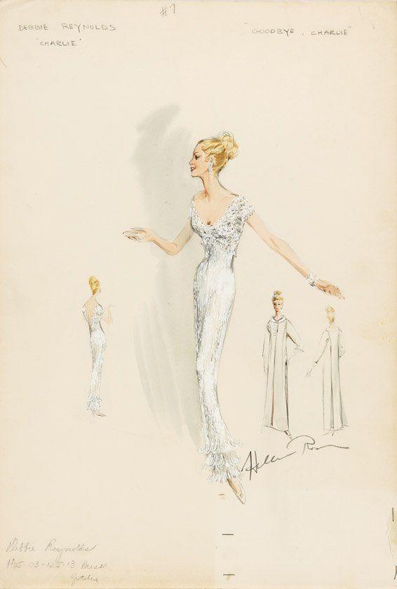 Patterned History: Costume Illustration - Helen Rose