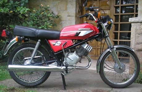 Moto Honda MB 100 1981