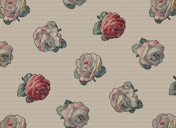 (609) Romantic rose painting - RU Digital