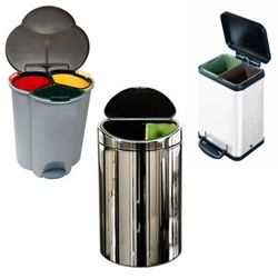 your trash can in style simple human step aside i think you trash bins