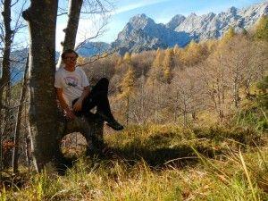 Montagna da soli: riflessioni di un appassionato maturate durante un'uscita di scialpinismo.