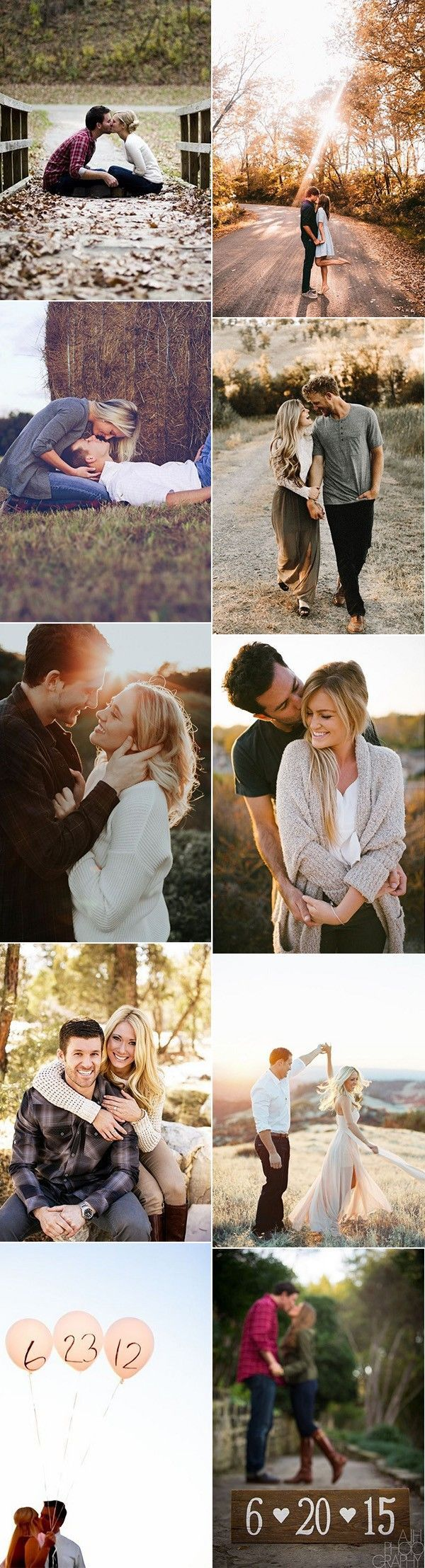 Top 20 Engagement Photo Ideas to Love