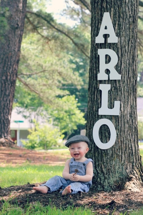 Love this idea...2nd birthday overalls and train hat so doing this for jayden!
