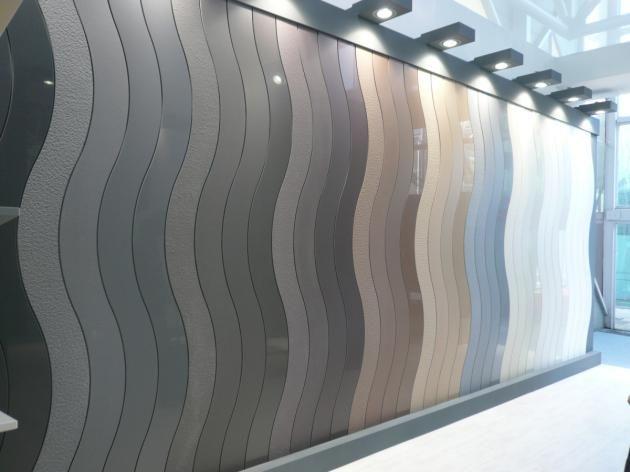 lapitec colour range display