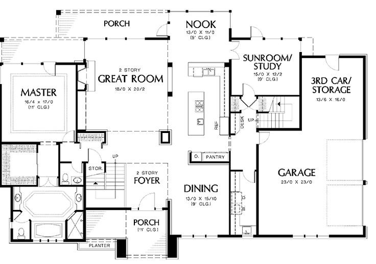 Two Story House Layout Design - Google Search