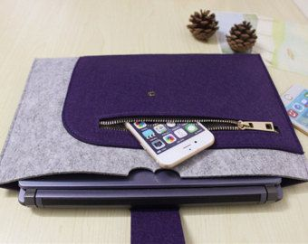 """felt Macbook Pro 13.3"""" sleeve Macbook 13"""" sleeve Macbook 13.3"""" case Macbook Pro cover Macbook Pro 13"""" holder Laptop sleeve SJ316"""