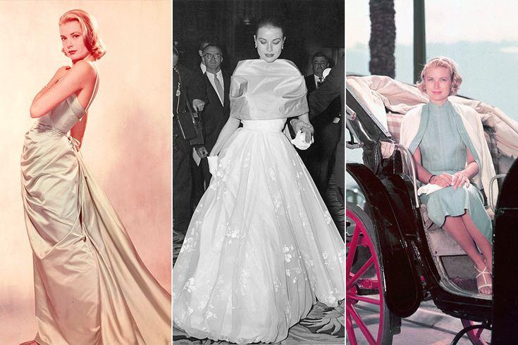 Grace Kelly virou nome de bolsa da Hermès e, desde os anos 50, conquistou o público, com looks refinados em longos de cintura marcada. Segundo Heloisa, o vestido de renda do seu casamento com o príncipe Rainier de Mônaco inspirou o de Kate Middleton