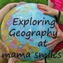 Exploring Geography showcases cities, states, and countries in a child-friendly manner hosted by Mama Smiles