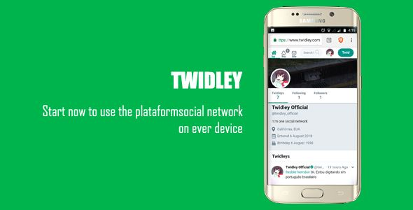 Download Free Twidley v2 0 1 - The Pro Social Network | jumpforce