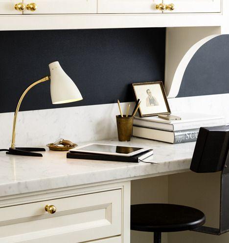 Great Rejuvenation Easy Update: Zond Brass Arm Desk Lamp Design Ideas
