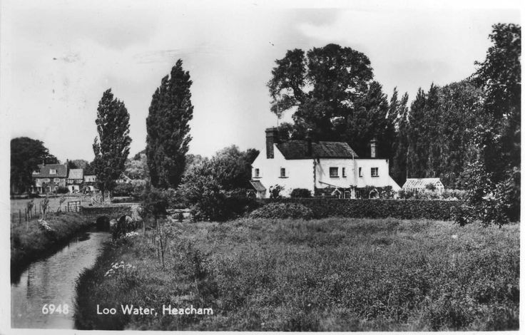 Heacham.Loo Water.- 1960 Used RPPC (Pub:H.Coates & Sons,Wisbech ) - VGC ! | eBay