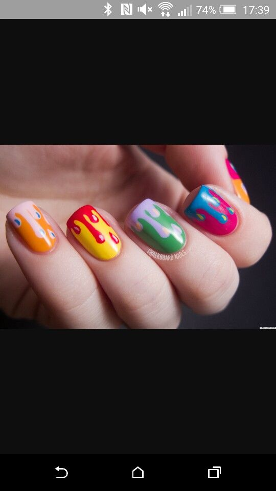 You got a but of paint on your nails !! Ha ha . Lol !!