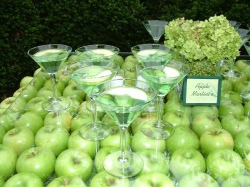 104 best green apple party ideas images on pinterest table green apple table decoration idea appletinis green apple tablescape junglespirit Image collections