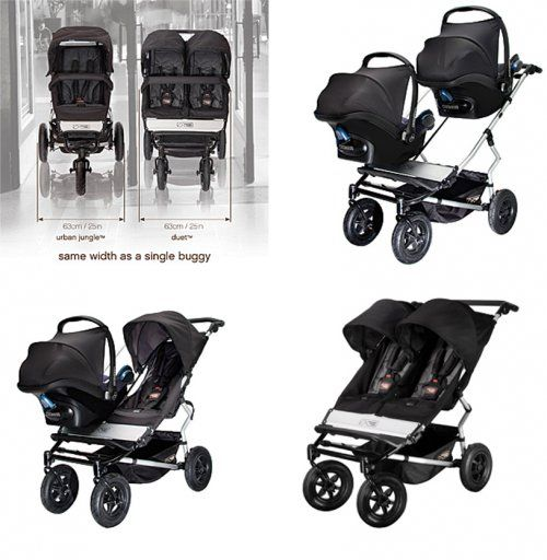 Mountain Buggy Duet (For when we have twins..it's gonna happen) - @mountainbuggy