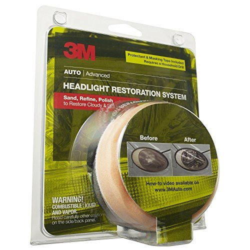 3M 39045 Headlight Renewal Kit with Protectant - http://www.productsforautomotive.com/3m-39045-headlight-renewal-kit-with-protectant/