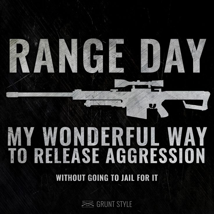 Range day - My wonderful day to release aggression.  #military #america #guns