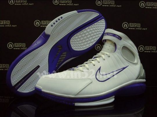 Nike 2k4 Hurache White/Varsity Purple (Had these, senior year 05-06, and White/Red for AAU nationals 05)