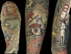 austin tattoo artist michael norris tattoo shop winnie the pooh eeyore ...