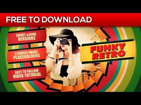 Video Retro | After Effects Template | Free Download