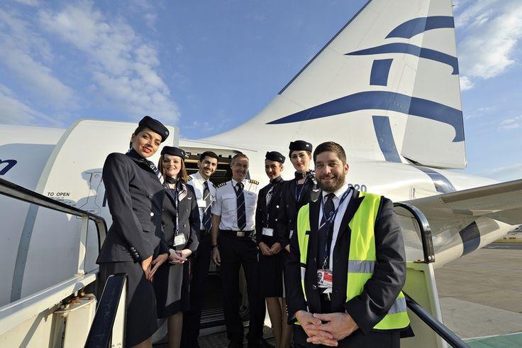 Το πλήρωμα της AEGEAN φωτογραφίζεται στο London Gatwick λίγο πριν από την επιβίβαση για το Ηράκλειο της Κρήτης, μαζί τους ο κύριος Πάνος Αναστασόπουλος Regional Manager της Aegean. Τους Ευχαριστώ πολύ όλους. Επίσης ευχαριστώ πολύ τον κύριο Δημήτρη Κακαντούση Aegean Herakleion Airport Station Manager καθώς και όλους όσους συνέβαλαν στο έδαφος για την άψογη εκτέλεση της πτήσης. Κυβερνήτης της πτήσης μας ήταν ο κύριος Κατάκης Φώτης συγκυβερνήτης ο κύριος Τσαϊνης Ιωάννης. Πλήρωμα καμπίνας οι…