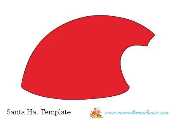 Santa Hat Christmas Cards – 5 minute craft | Santa Hat, Christmas ...