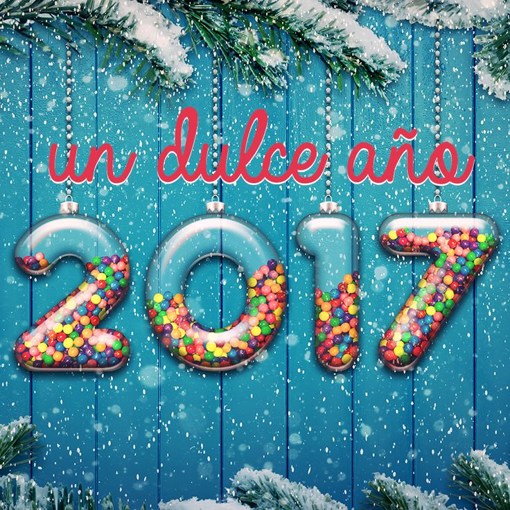 Que tengas un dulce año 2017