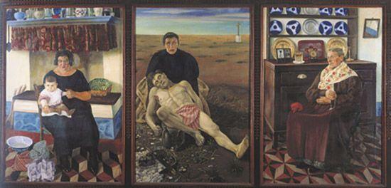 Madre, La vita, Il dolore, La gloria (trittico)