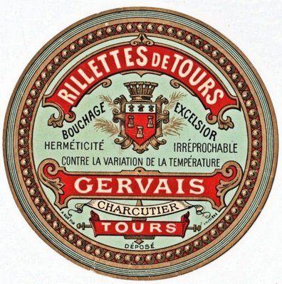 Etiqueta redonda francesa.