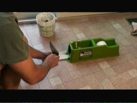 Mark Donovan of HomeAdditionPlus.com shows how to repair a drywall taped seam in this video.